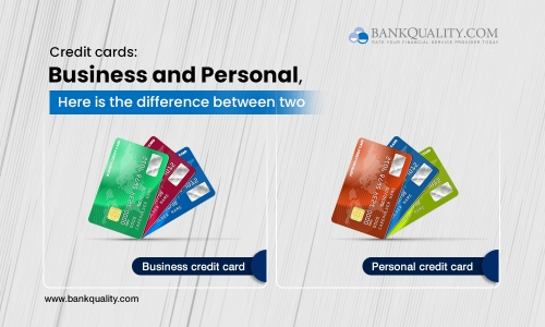 Business credit cards and personal credit cards. How are they different?