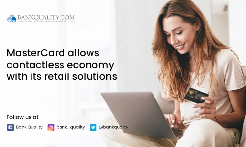 MasterCard launches retail solutions to allow a contactless economy