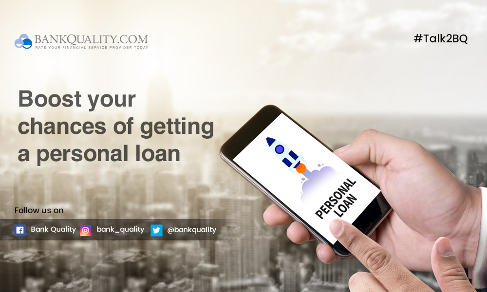 Boost your chances of getting a personal loan