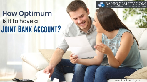 How optimum is it to have a joint bank account?