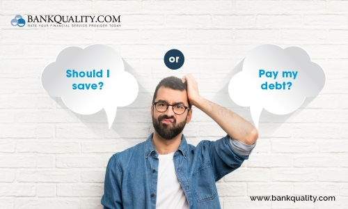 Should you save first? or Pay debt first?