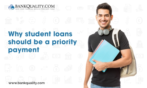 Why should you pay student loan first?
