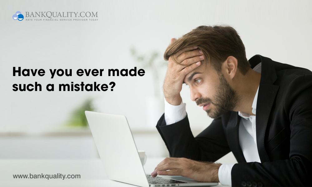 Banking Mistakes everyone makes